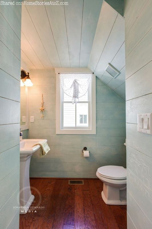 Powder Room Example Hamptons Speculator